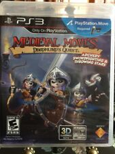 Medieval Moves: Deadmund's Quest  (Sony Playstation 3, 2011) NEW PS3