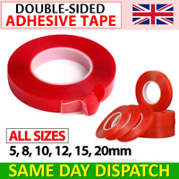 DOUBLE SIDED TAPE, SUPER STRONG ADHESIVE, HEAVY DUTY MOUNTING TAPE 3M CLEAR ROLL