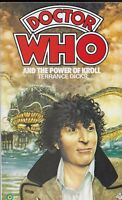DOCTOR WHO AND THE POWER OF KROLL by TERRANCE DICKS- 1983 REPRINTED PB [O]