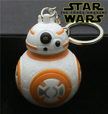 Star Wars BB-8 Keychain, The Force Awakens, Disney, Droid, Light Up, Collectible
