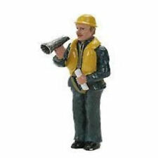 Graupner Dock Worker with Megaphone Resin Figure 1:20 Scale 375.13
