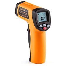 Termometro DIGITALE PREMIUM AD INFRAROSSI LASER -50 C A 550 C -50 buona condizione380deg LS-550