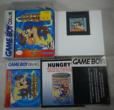 Tasmanian Devil Munching Madness (Game Boy Gameboy Color) Complete in Box GREAT