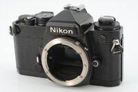 Nikon FE 35mm SLR Film Camera Black Body  Very Good Condition #1502