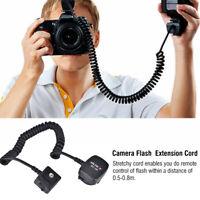 Viltrox SC-30 TTL Off Camera Hot Shoe Light Flash Sync Cord Cable For Nikon Came