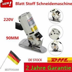 90mm Blatt Stoff Schneidemaschine Tuch Schneider Elektrische Quick Cut Schere