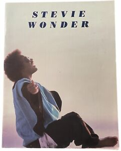 Stevie Wonder European Tour 1983 tour programme