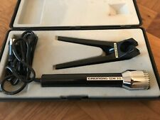 Grundig GDM 313 Vintage Microphone With Original Case And Stand.