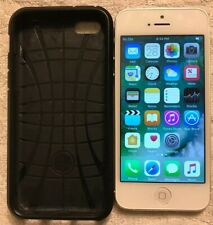 "Apple iPhone 5 16GB Unlocked""  White Smartphone"