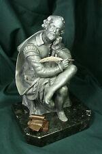 Escultura de Gustavo Adolfo Bécquer. Antimonio. S.XX Sculpture. Antimony
