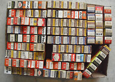 HUGE Lot of 110 Vintage Unsorted Radio and Television and Other Tubes