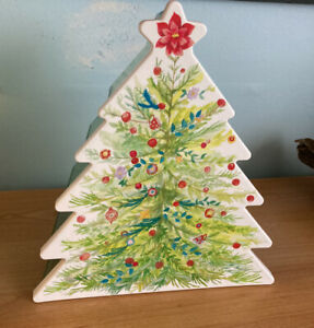 The Pioneer Woman Cookie & treat Christmas tree shaped storage Container