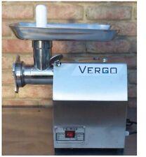 Vergo COMMERCIAL BUTCHERS MM12 ELECTRIC MEAT GRINDER MINCER, 145kg P/H