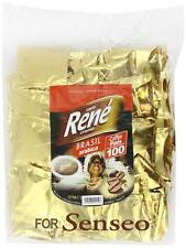 PHILIPS Senseo 100 x Cafè RENE Crème BRASIL Caffè Pads Borse BACCELLI