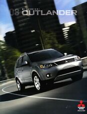2008 08 Mitsubishi Outlander original brochure MINT