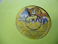 Rod Stewart Ole Ola/I'd Walk A Million 45 RPM Riva Records EX opional center