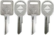2 NEW INTERNATIONAL TRUCK OEM IGNITION + DOOR Uncut Key Blanks - 4 Logo Keys