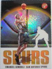 2003-04 TOPPS PRISTINE GOLD REFRACTOR EMANUEL GINOBILI  92 / 99, SPURS !! BOX 5
