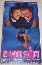 Late Shift VHS Video Jay Leno David Letterman Spoof Tonight Show NEW SEALED