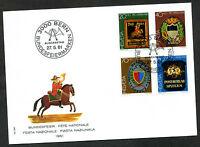"""Schweiz 1981 FDC Mi-Nr. 1199-1202 """"Pro Patria"""": Postschilder"""