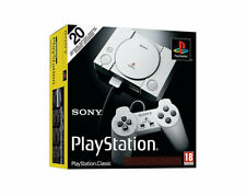KONSOLE,SONY,PLAYSTATION CLASSIC,2.CONTROLLER,HDMI-KABEL,USB-KABEL,MANUALS,OVP
