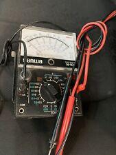 Sanwa Electric Instrument analog multi tester N-101 Made in Japan Working