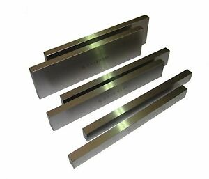 RDGTOOLS 10MM WIDE MATCHED PARALLEL PAIRS VARIOUS SIZES MILLING ENGINEERING