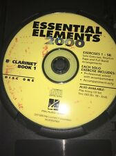 Essential Elements 2000 B Clarinets Book 1