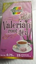 THERBAL VALERIAN ROOT TEA 25 BAGS 11/2019 TE DE VALERIANA 100% NATURAL