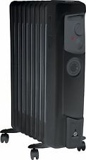 Dimplex OFC2000Tib 2kW Oil Filled Timer Radiator Frost Protection Black UK