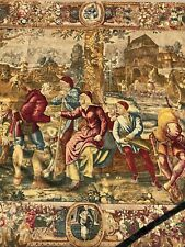 An Exceptional X large European Tapestry with lots of characters