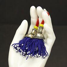 PAIR Tribal Jewelry Clothing TASSELS Belly Dance Kuchi Bellydance 729a6