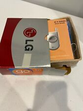 Lg C1300i Cingular Flip Cell Phone Silver non-Smartphone New In Box