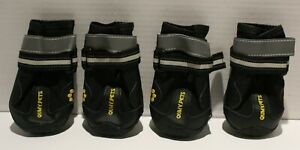 QumyPets Rugged Dog Boots Waterproof Reflective Paw Protection- Several Options
