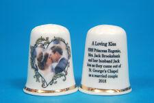 A Loving Kiss Eugenie & Jack's  Wedding at St George's Chapel 2018 Thimble B/182