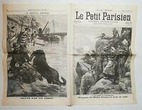 N890 La Une Du Journal Le petit Parisien 26 novembre 1899 guerre au transvaal