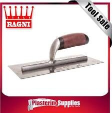 Ragni 418 280mm x 120mm Plasterer's Steel Trowel Made in Italy FREE SHIPPING