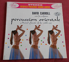DAVID CARROLL LP ORIG US PERCUSSION ORIENTALE SEXY COVER