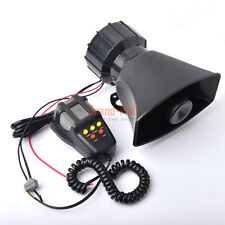 Upgraded System 300DB 100W Car Alarm Police Fire Loud Siren Horn Speaker MIC USA