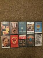 Job Lot Bundle Cassette Tapes Genesis ELO Oldfield 10cc Santana Garfunkel Uriah
