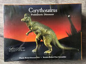 Rare Vintage 1987 Lindberg Corythosaurus Dinosaur Kit Factory Sealed