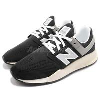 New Balance MS247MR D Black Silver White Men Running Shoes Sneakers MS247MRD