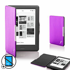 Purple Smart Shell Case Cover Kobo Glo HD eReader with Free Screen Prot & Stylus