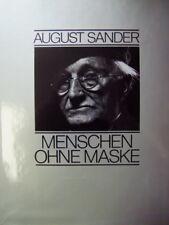 August Sander, Menschen ohne Maske, geb. im Schuber, neuwertig