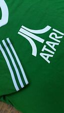 VINTAGE 70s 80s ATARI game system RINGER style Large t shirt logo CLASSIC SOFFE