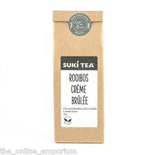 2 x 80g SUKI ROOIBOS CREME BRULEE LOSEN BLATT-TEES - KOFFEINFREI