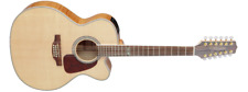 Takamine GJ72CE-12-NAT Jumbo Cutaway 12-String Acoustic-Electric Guitar