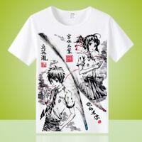 Anime Arknights Suzuran Cosplay Unisex Short Sleeve T-Shirts Full Color TEE