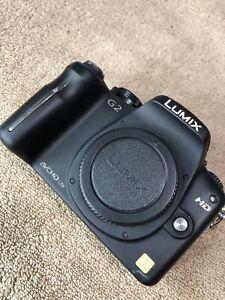 Lumix G2 Camera Panasonic M43 Olympus Mirrorless
