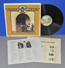 Graham Central station same usa'74 warner ois Insert vg + + 1st vinyle LP cleaned